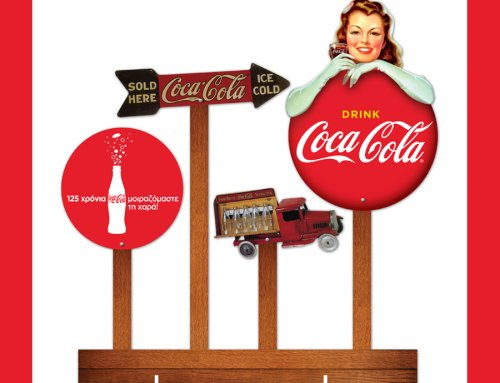 Display Header – Coca Cola Retro