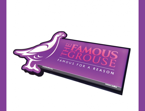 Promo Sign Led Lights – The Famous Grouse